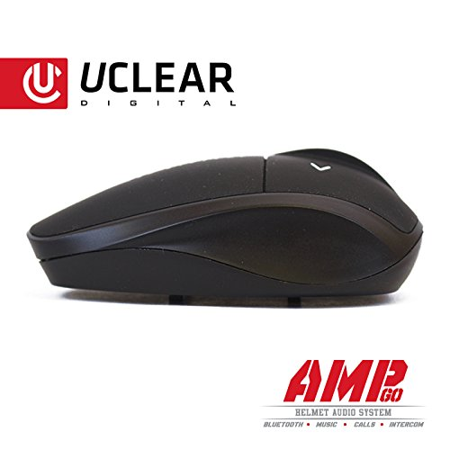 Uclear AMP Go Bluetooth Helmet Audio System Intercom