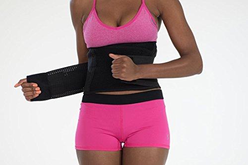 6dbfb23388e Genie Hourglass Waist Trainer Belt (Black 1X 2X) - Shapewear for Women