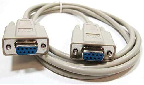 L-com Standard Null Modem Cable DB 9 f//f, 5 feet