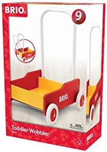 41%2BIu%2B2iuEL. AC - BRIO 31350 - Toddler Wobbler   The Perfect Toy For Newly Mobile Toddlers For Kids Ages 9 Months And Up