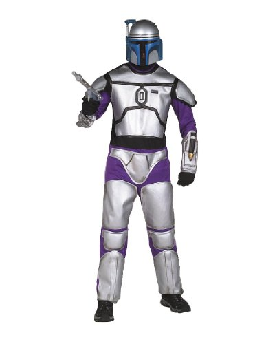 Star Wars Jango Fett Costume Deluxe Boy - Large
