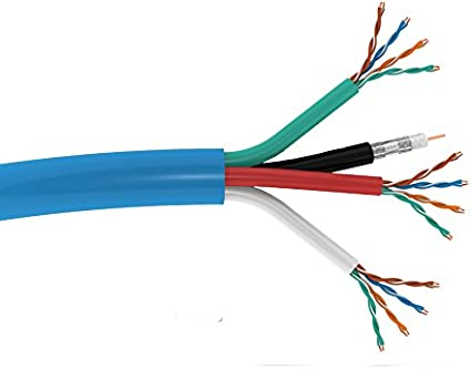comCables  Cat 5E Enhanced 350MHz UTP PVC