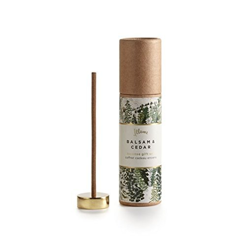 Illume Balsam Cedar Incense Set