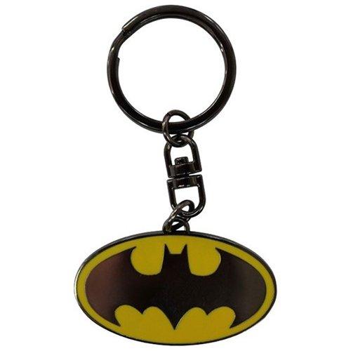 Amazon.com: AbyStyle Batman Logo Keychain (Multi-Colour ...