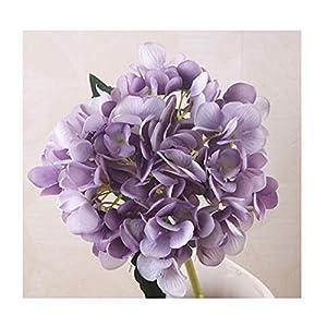 1 Branch Artificial Flowers Wedding Party Home Decor Hydrangea Bouquet Artificial Flowers Plants Dried Flowers Single Silk Cloth,10 7