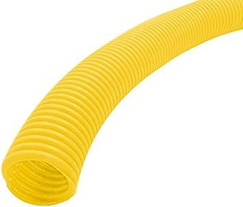 Black 25 Feet Electriduct 3//4 Flame Retardant Polypropylene Split Wire Loom Tubing Corrugated Conduit