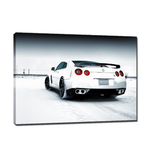 Amazon De Bild Auf Leinwand 80x60 Cm Car Auto Fertig