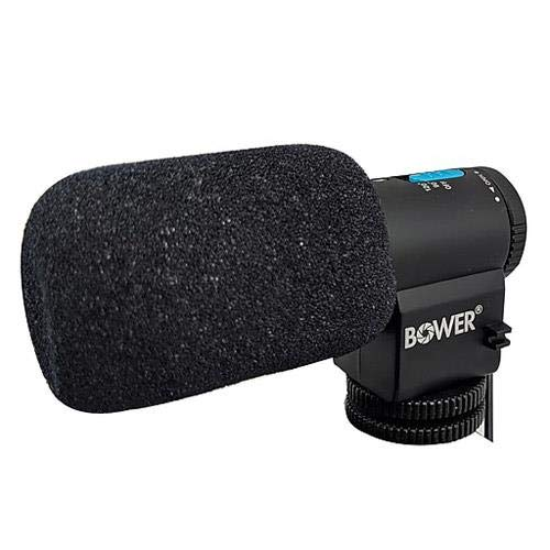 (Bower Professional On-Camera Electret Condenser Microphone)