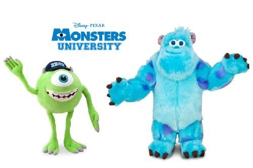 Disney Monsters University LARGE Plush Doll Set Featuring