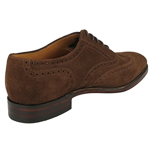 Loake Brogue Loake Uomo Brogue Marrone XZqpYw1q