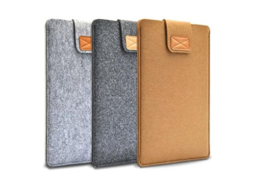 Yunqir Multi-functional 11 Inch Felt Handbag Tablet Laptop Bag Handbag Computer Inner Bag for Women and Men