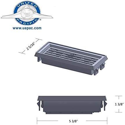 United Pacific Chrome Plastic Peterbilt A//C /& Heater Small Vent