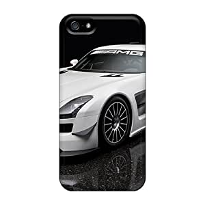 Premium Iphone 5/5s Case - Protective Skin - High Quality For Sls Amg Gt3 2011 by ruishername