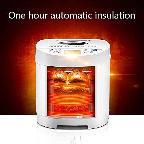 Automatische Breadmaker 21 Vooraf ingestelde functies Digitaliseren Intelligent Fast Home Kitchen Bakkerij Brood Machine White DDLS