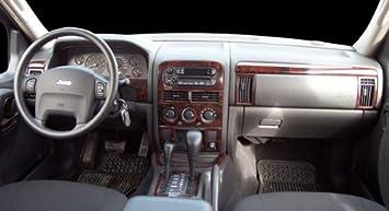 amazon com jeep grand cherokee laredo limited interior burl wood dash trim kit set 1999 2000 2001 2002 automotive jeep grand cherokee laredo limited interior burl wood dash trim kit set 1999 2000 2001 2002