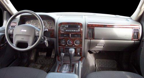 Jeep Grand Cherokee Laredo Limited Interior Burl Wood Dash