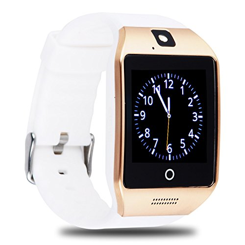 Xgody Apro M08 Smart Wrist Watch Phone 8GB TF Card NFC 1.54'' LCD Screen Mate For Android IOS HTC LG Samsung Sony(Gold)