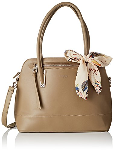 David Jones 5713-1, Borse a mano Donna Verde (Khaki)