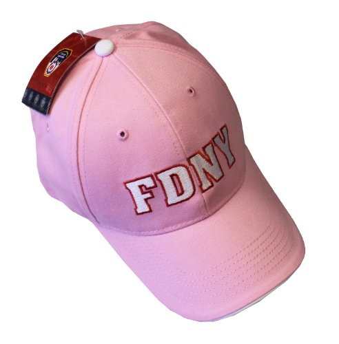 FDNY Baseball Hat Fire Department Of New York City Pink & White One Size