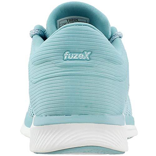 smoke Femmes Asics Blue Adapt Pour Chaussures Porcelain white Rush Fuzex Blue wSSqzxpr4a