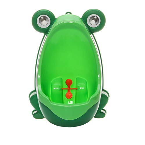 (YSNBM Froggy Baby Urinal - Potty Toilet Training Kids Urinal for Boys Pee Trainer Bathroom (Green) Urinals,Urine Buckets,Urination Urinal (Color : A))