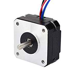 0.9deg Nema 17 Stepper Motor Bipolar 1.2A 11Ncm/15.6oz.in 42x42x20mm 4-wires from STEPPERONLINE