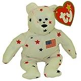 TY McDonald's Teenie Beanie - GLORY the Bear (1999) (5 inch) -MWMT's Stuffed Toy /#www.bbtoystore.com