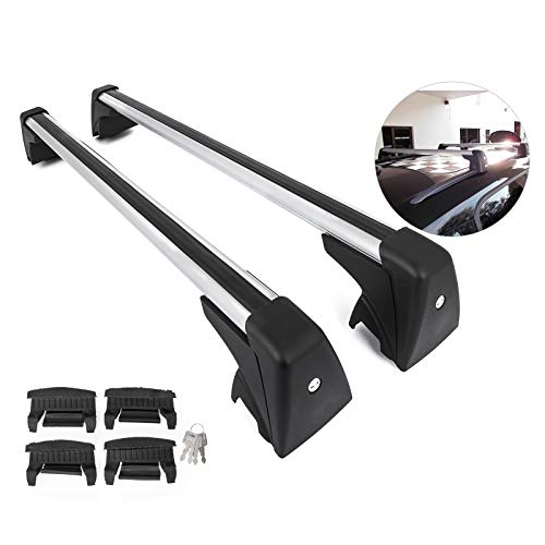 Bestauto Roof Rack OE Style Cross Bar Roof Rack Cross Bars Fit for Mini Cooper Countryman R60 Roof Rack Base Support System