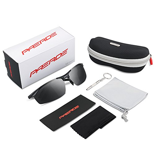 d925463cae PAERDE Men s Polarized Sports Sunglasses for men Driving - Import It All
