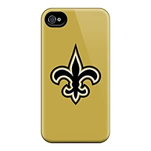 New Cute Funny New Orleans Saints Cases Covers/ Iphone 4/4s Cases Covers