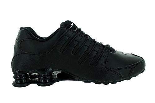 Nike Shox NZ EU, Scarpe sportive, Uomo Black/White/Black