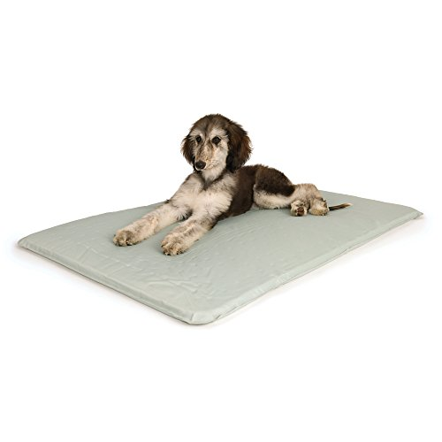 K&H Pet Products Cool Bed III Cooling Dog Bed Medium Gray 22