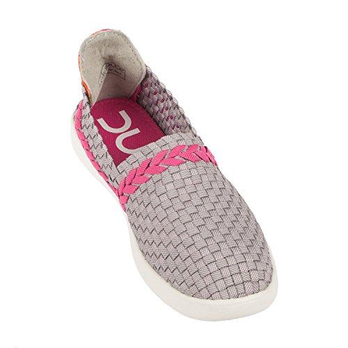 Funk amp; Slip Grey Simple On Women's last Pink E Dude Shoes POpFRw