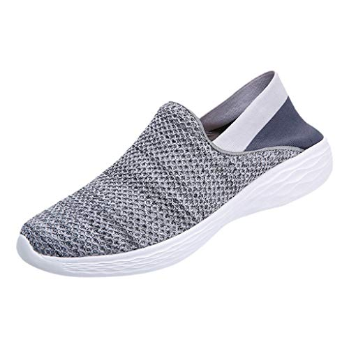 Sneakers for Women Shoes,FAPIZI Lady Summer Outdoor Mesh Casual Sports Shoes Running Breathable Shoes Gray