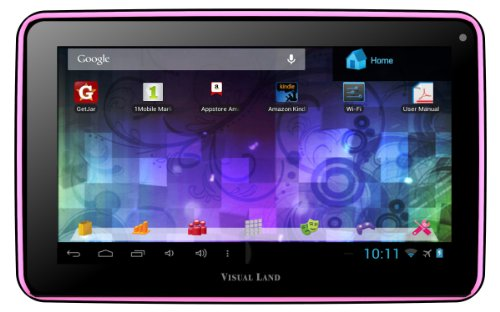 Visual Land Prestige 7L - 7-Inch Tablet with 8GB Memory (Pink)