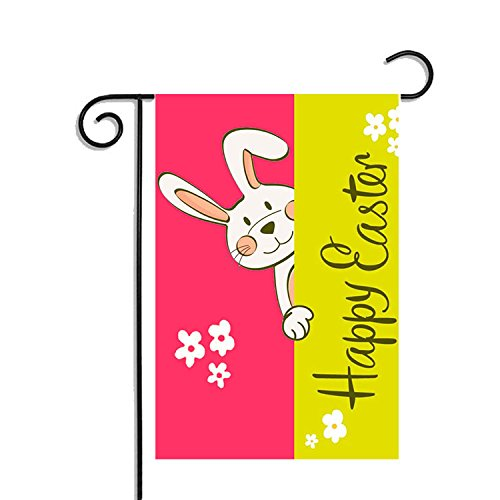 Dwarm Happy Easter Garden Flag, 12.5