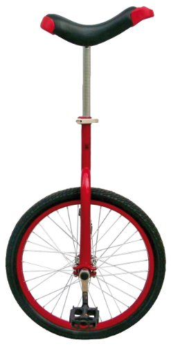 "Fun Red 20"" Unicycle with Alloy Rim"