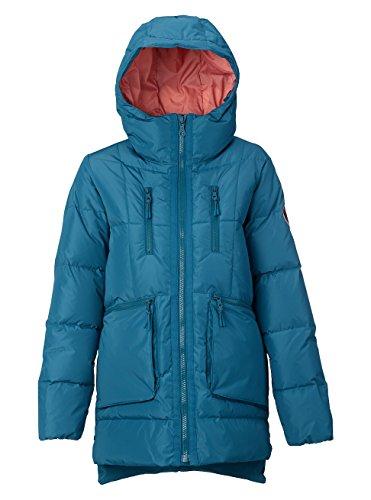 Burton Women's Essex Puffy Jacket, Jaded, X-Large (Snowboard Warmest Jacket)