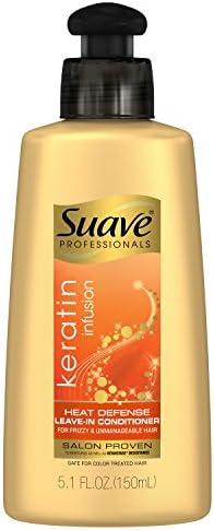 Suave Professionals Leave-in Conditioner, Keratin Infusion Heat Defense,  5.1 oz: Amazon.sg: Beauty