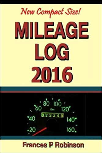 amazon com mileage log 2016 record mileage repair and fuel