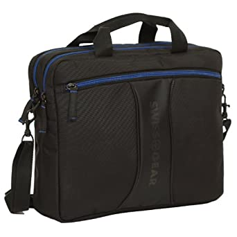 Wenger JETT Carrying Case for 14.1 Notebook - Black, Blue - Tear Resistant
