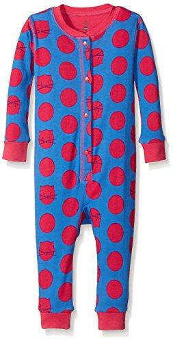Price comparison product image Petit Lem Baby Girls' Bodysuit-Aztec Kat,  Blue Denim,  18 Months