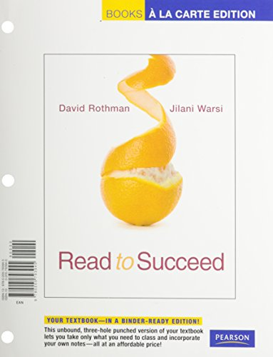 Read to Succeed: A Thematic Approach to Academic Reading, Books a la Carte Plus MyReadingLab
