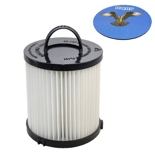 HQRP HEPA Dust Cup Filter for Eureka Airspeed AS1041A, AS1048A, AS1049A, AS1061A, AS1040 AS1060 Series Upright Vacuum Coaster