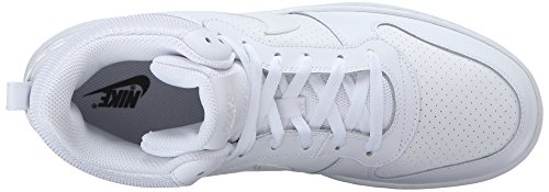 Borough Court Men White White White NIKE Mid Shoes s Basketball White 64txqpw