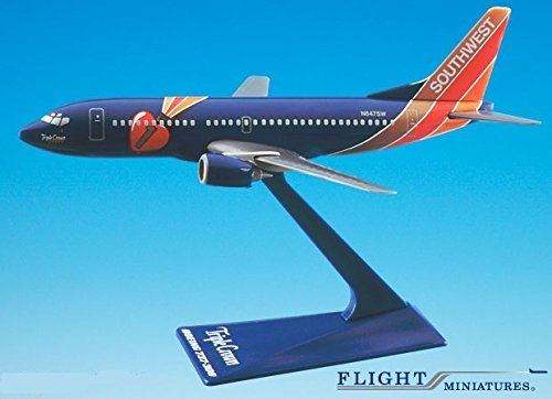 Southwest Triple Crown 737-300 Airplane Miniature Model Plastic Snap Fit 1:200 Part# ABO-73730H-404 (Southwest Airlines Model Plane compare prices)