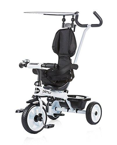 Chipolino Triciclo con toldo, Modelo Primus, color blanco