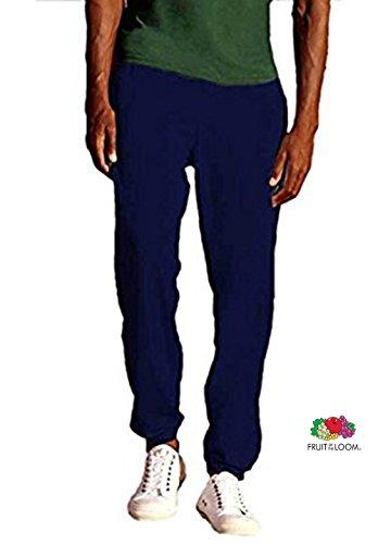 Marchio Fruit of the Loom - modello pantalone fr felp. uomo 80/20 / Home Shop Italia (Blu, L)