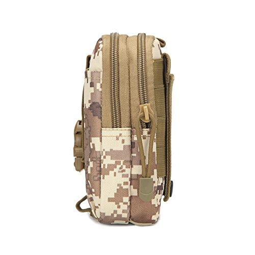 Bewegung von Männern und Outdoor taktische Taschen Taschen von Camouflage läuft 67-Zoll Handy Zubehör Paket, Dschungel, Abbildung