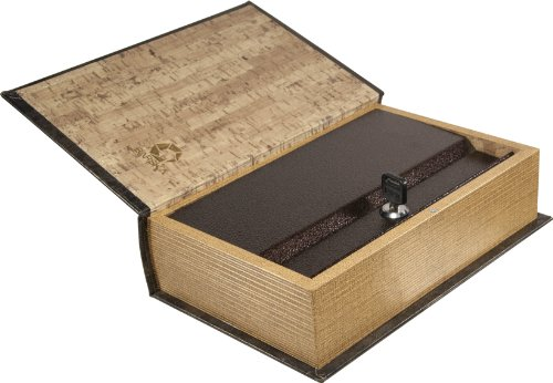 Barska Antique Book Lock Box With Key Lock New Ebay